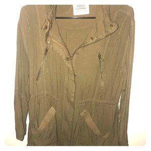 Olive Green Lightweight Jacket